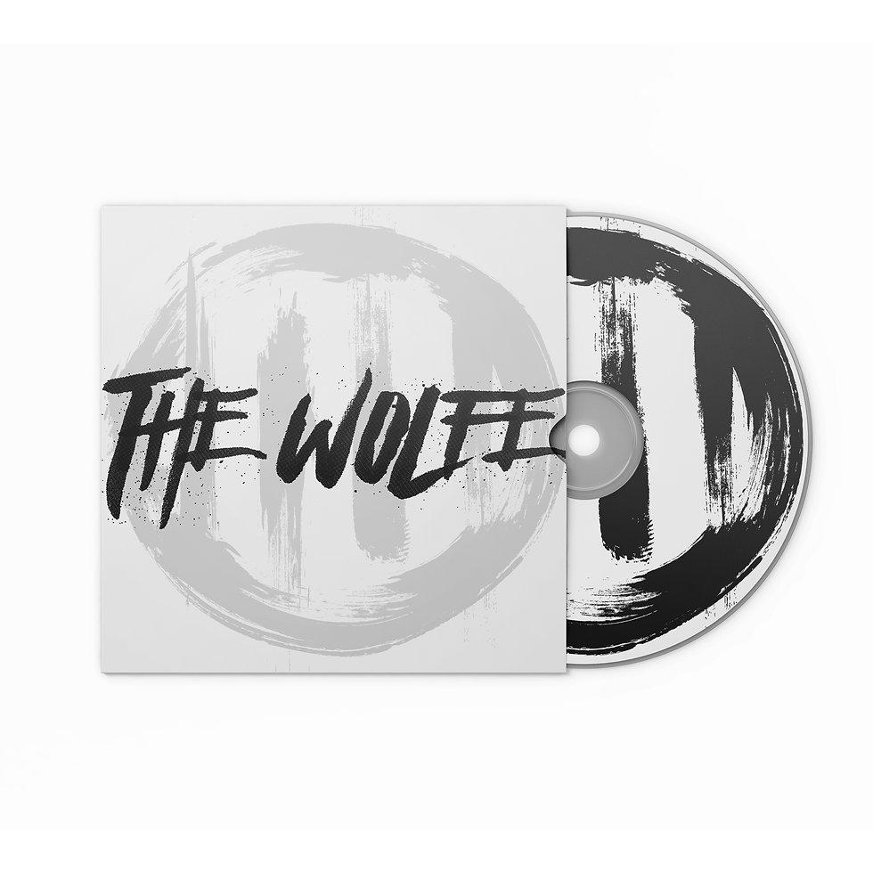 The Wolfe EP Front - Album Artwork Mocku