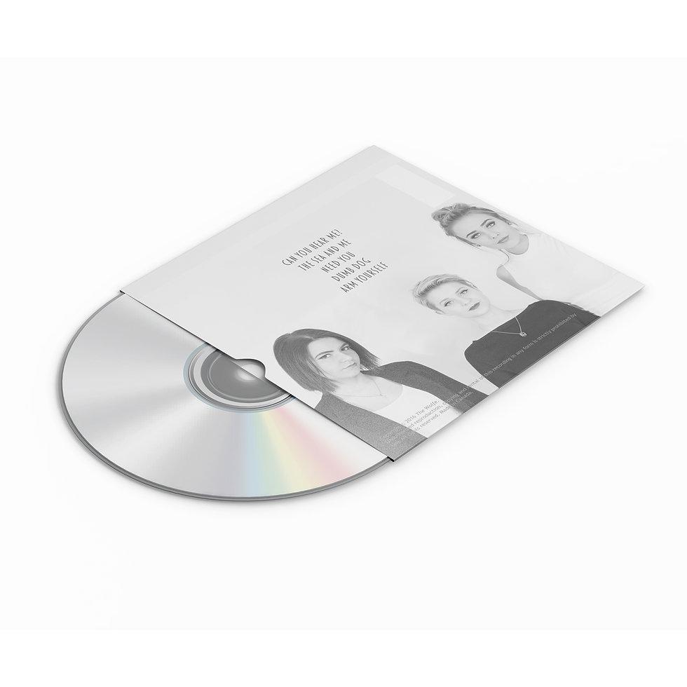 The Wolfe EP Back- Album Artwork Mockup.