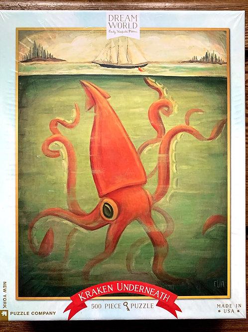 Dream World Kraken 500 piece puzzle