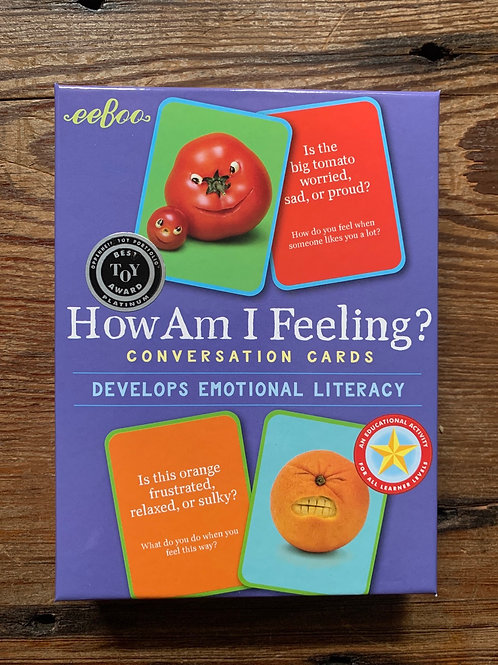 Emotional Literacy How am I Feeling Conversation Cards