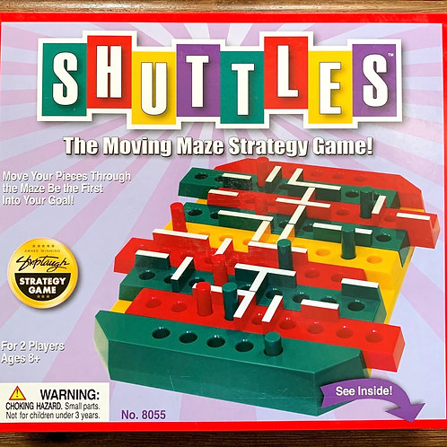Shuttles Moving Maze Strategy Game