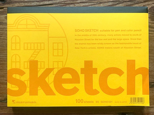 """Soho sketch pad - 10"""" x 7"""""""