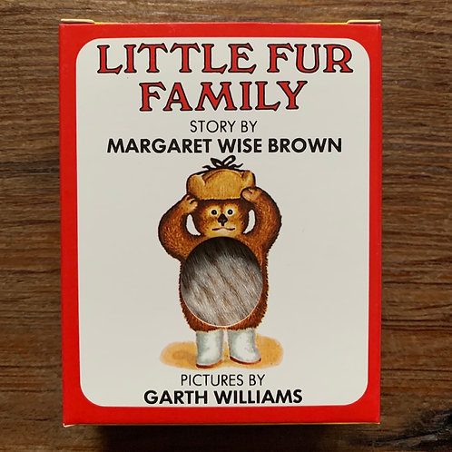 Little Fur Family Furry mini book 5""