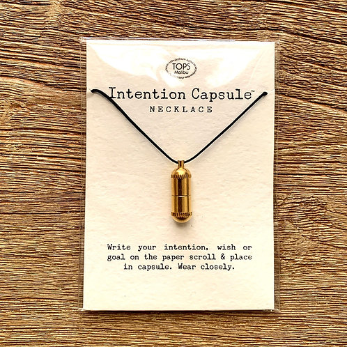 Intention Capsule Necklace