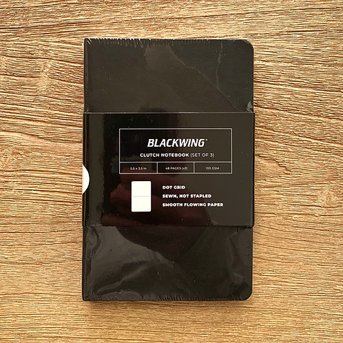 Blackwing small clutch notebook set of 3