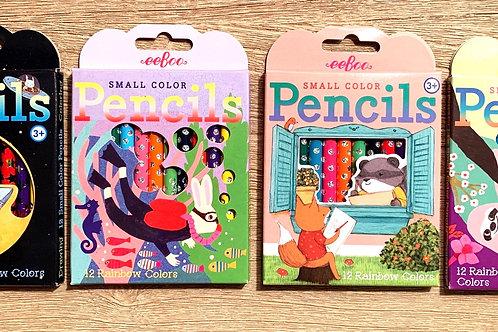 Eeboo mini colored pencils