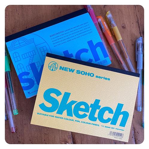 """NEW SOHO Sketch  - 7"""" x 5"""""""