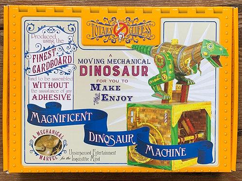 Totally Glueless Cardboard Magnificent Dinosaur Machine Kit