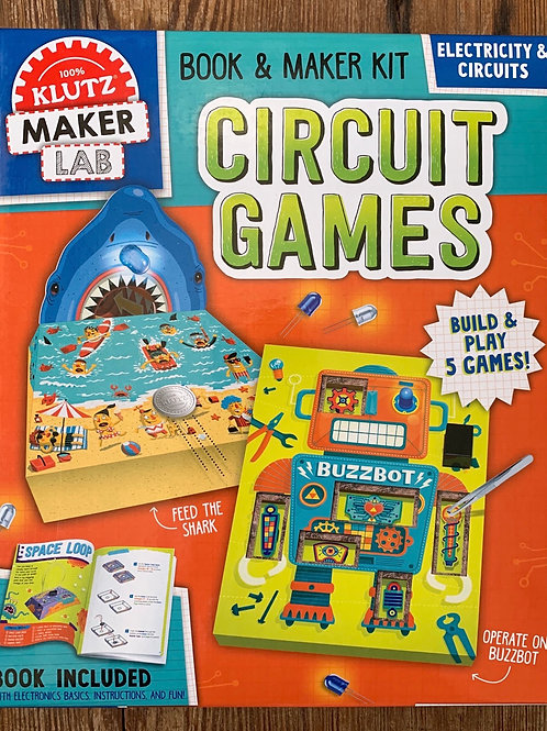 Klutz Maker Lab Circuit Games Kit