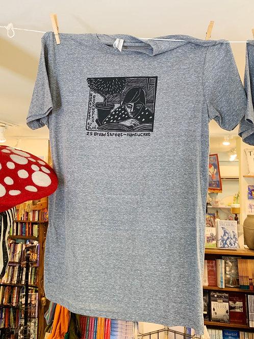 Bookworks Gray T Shirts