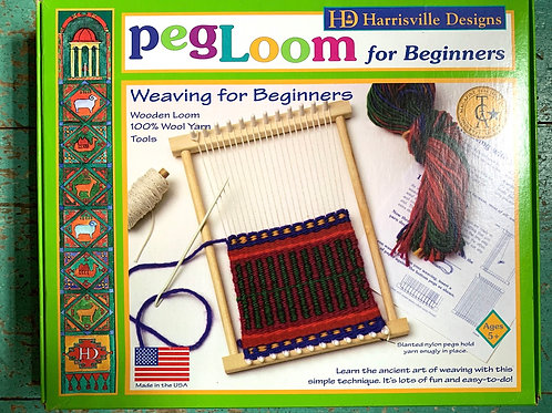 Harrisville Peg Loom for Beginners