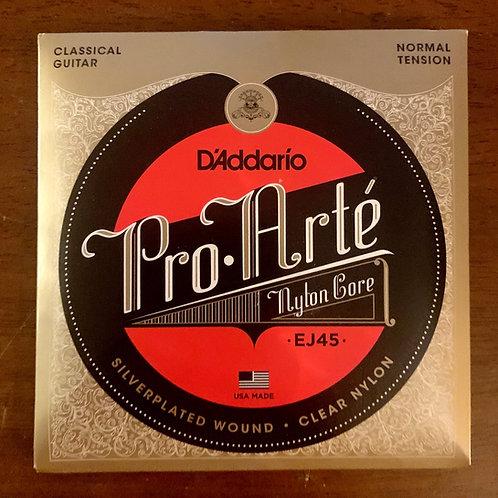 D'Addario Pro Arté Nylon Core EJ45