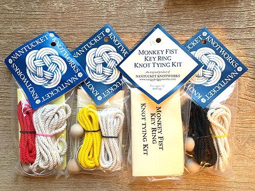 Nantucket Knotworks Monkey Fist Key Ring Tying Kit