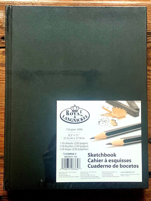 Royal & Langnickel Sketchbook - hardcover blank pages
