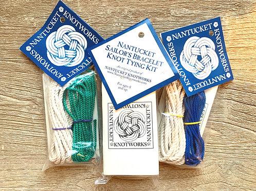 Nantucket Knotworks Sailors Bracelet Tying Kit