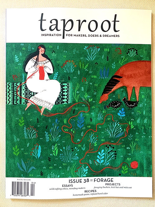 Taproot Issue 38: Forage