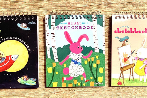 "Eeboo mini 5"" notebooks"