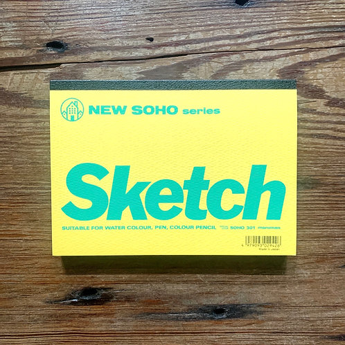 "New Soho sketch pad - 7"" x 5"" textured"