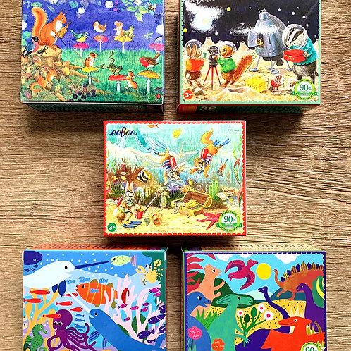 Eeboo Mini Puzzle 36 piece puzzle