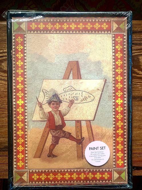 "Xonex vintage watercolor set 14"" x 10"""