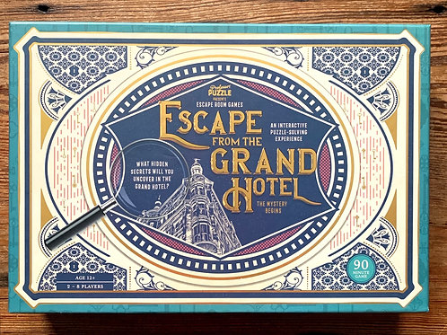 Escape Room Games - Escape from the Grand Hotel puzzle and game