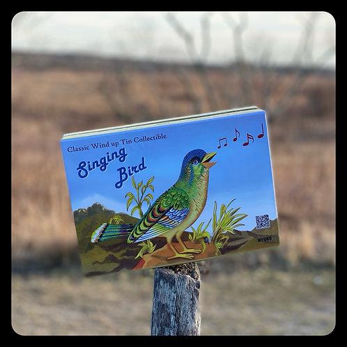 Classic Wind Up Singing Bird
