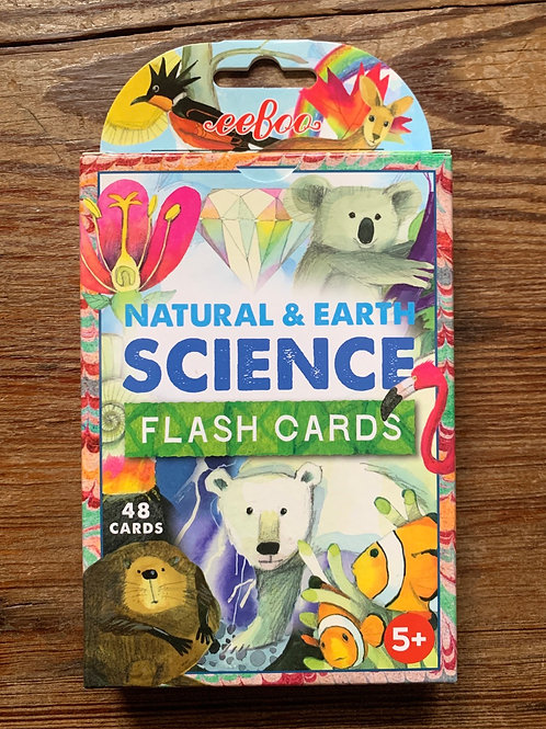 Natural Earth & Science Flash Cards