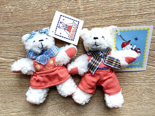 Barnaby and Baisley Bears 5""