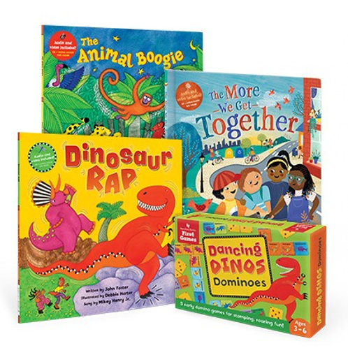 Barefoot Books Moving & Grooving Collection