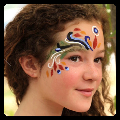 Earth Paint Natural Face Paint
