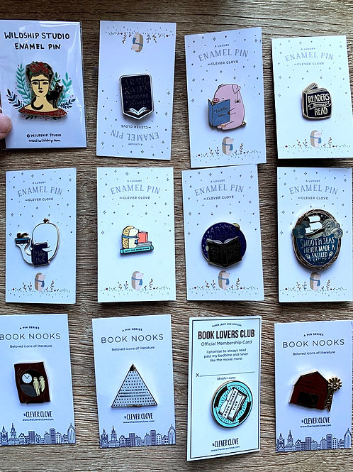 Superb Enamel Pins
