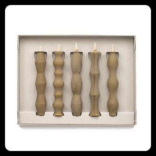 Set of 5 Nanao Takazawa Candles