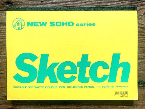 "New Soho Sketch pad - 10"" x 7"""