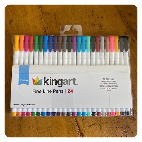 KingArt Fine Line Pens