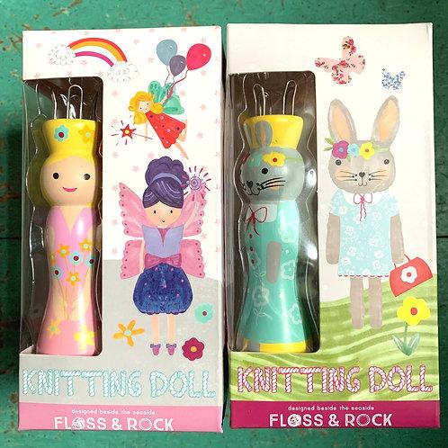 Floss & Rock Knitting Doll