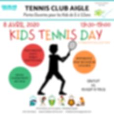 2020 TCAIGLE KIDS TENNIS DAY instagram.p
