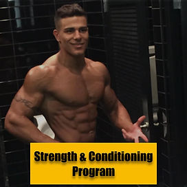 Strength & Conditioning Program By Eyad