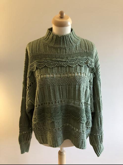 Lou knit green
