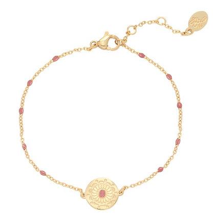 Bracelet deco pink
