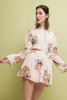 Foral playsuit
