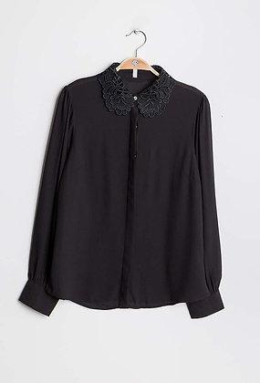 Loulou black blouse