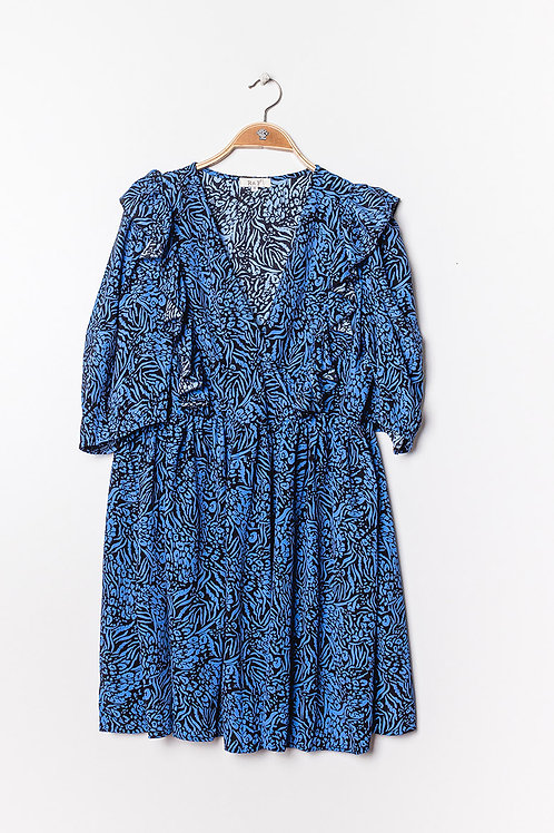 Lola dress blue