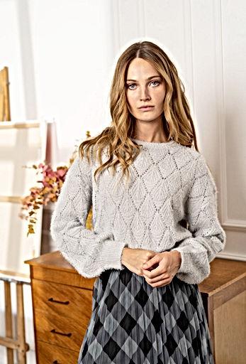 Lulu's & Jo - Gigi knit grey