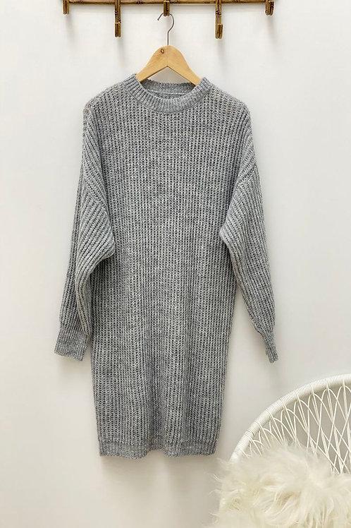 Noah dress grey