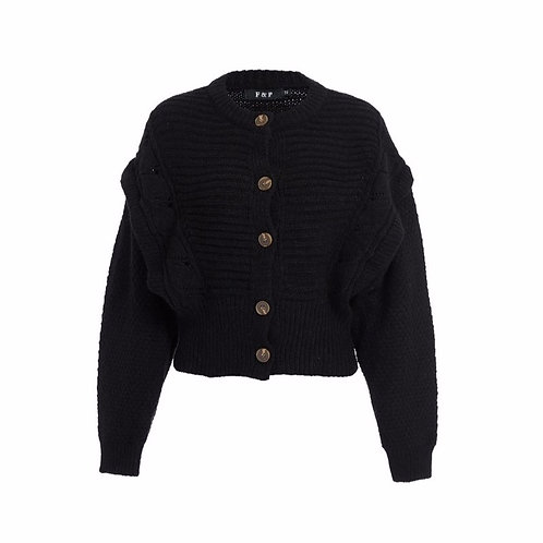 Isa knit black