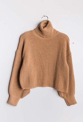 Joe knit camel