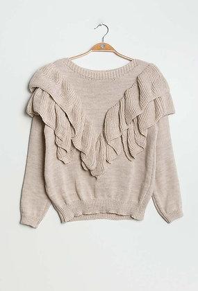 Mila knit beige