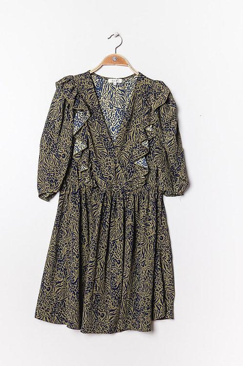 Lola dress khaki