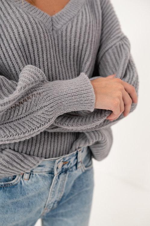 Lio knit grey