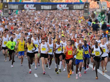 Orthodox Vegan Reveals She Ran A Marathon